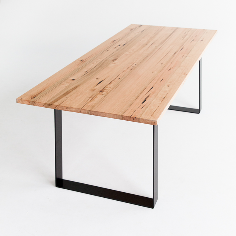 Modern Hardwood Dining Table by Mark Maurice